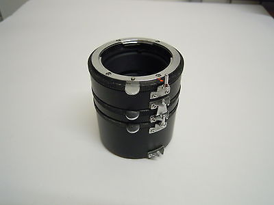 3 Tube Extension Tube Set Nikon Fit Manual