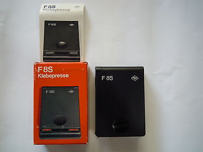 Agfa  F8S Super 8 Splicer And Tapes TYPE 5256/222