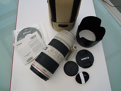 Canon EF 70-200 mm F/2.8L IS  II USM Lens