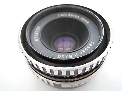 CARL ZEISS JENA TESSAR F2.8 50MM LENS