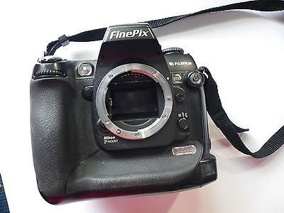 Fujifilm FinePix S3 Pro 12.3 MP Digital SLR Camera - Black (Body only)