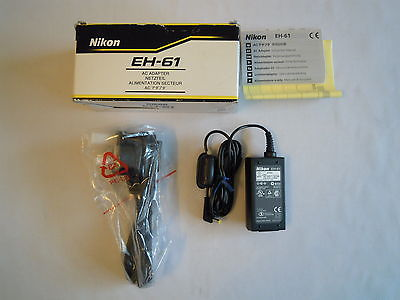 NIKON EH-61 AC ADAPTER FOR NIKON 2100  VAK130UL