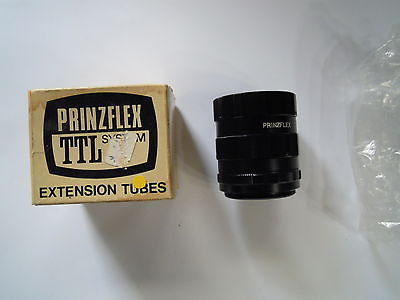 Prinzflex TTL Sysem Extension Tube Pentax screw fitting