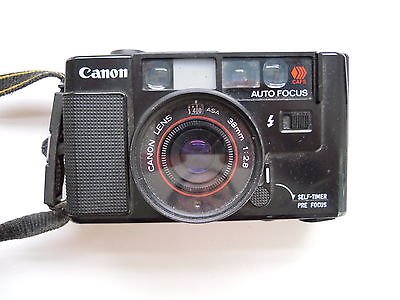 Canon AF-35-M 35mm Point and Shoot Film Camera