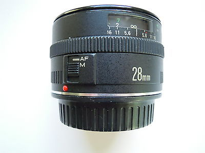 Canon EF 28 mm F/2.8 Lens