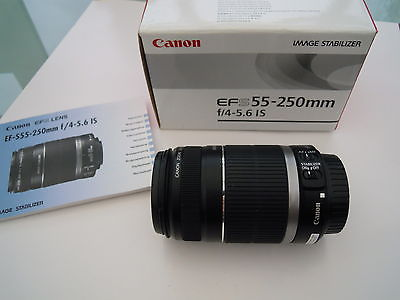 Canon EF S 55-250mm F4-5.6 IS