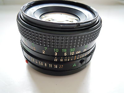 Canon FD 50 mm f/1.8 Lens