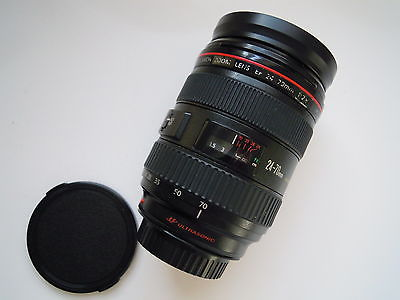Canon Zoom EF 24-70mm F2.8L Macro lens