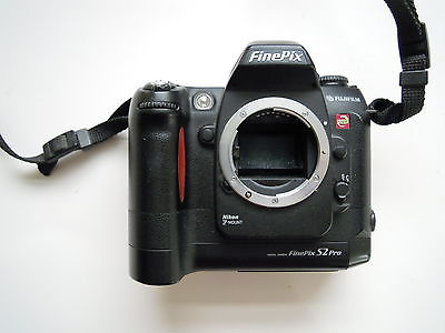 Fujifilm Finepix S2 Pro with Nikon F Mount