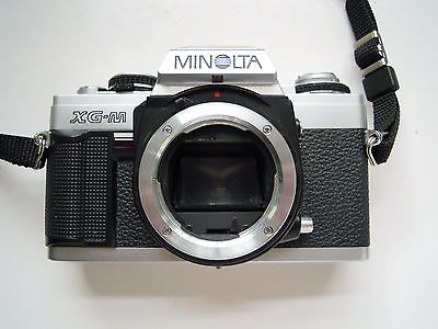 Konica Minolta XG-M 35mm SLR Film Camera Body Only