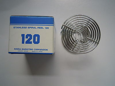 Konica Stainless Spiral Reel 120