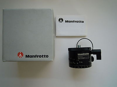 Manfrotto Revolving Base for 360 Photography 300N new Panoramic Head