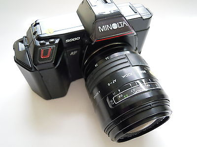 Minolta AF 5000  With 28-70mm F3.5-4.5 lens