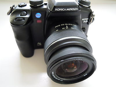 Minolta Dynax 7D with 18-55 sam lens