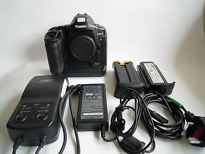 Canon EOS 1Ds Mark II 16.7 MP Digital SLR Camera - Black (Body Only)