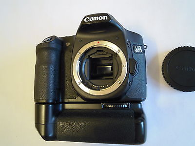 Canon EOS 40D 10.1 MP Digital SLR Camera WITH BATTERY GRIP,2 BATTERIES, CHARGER