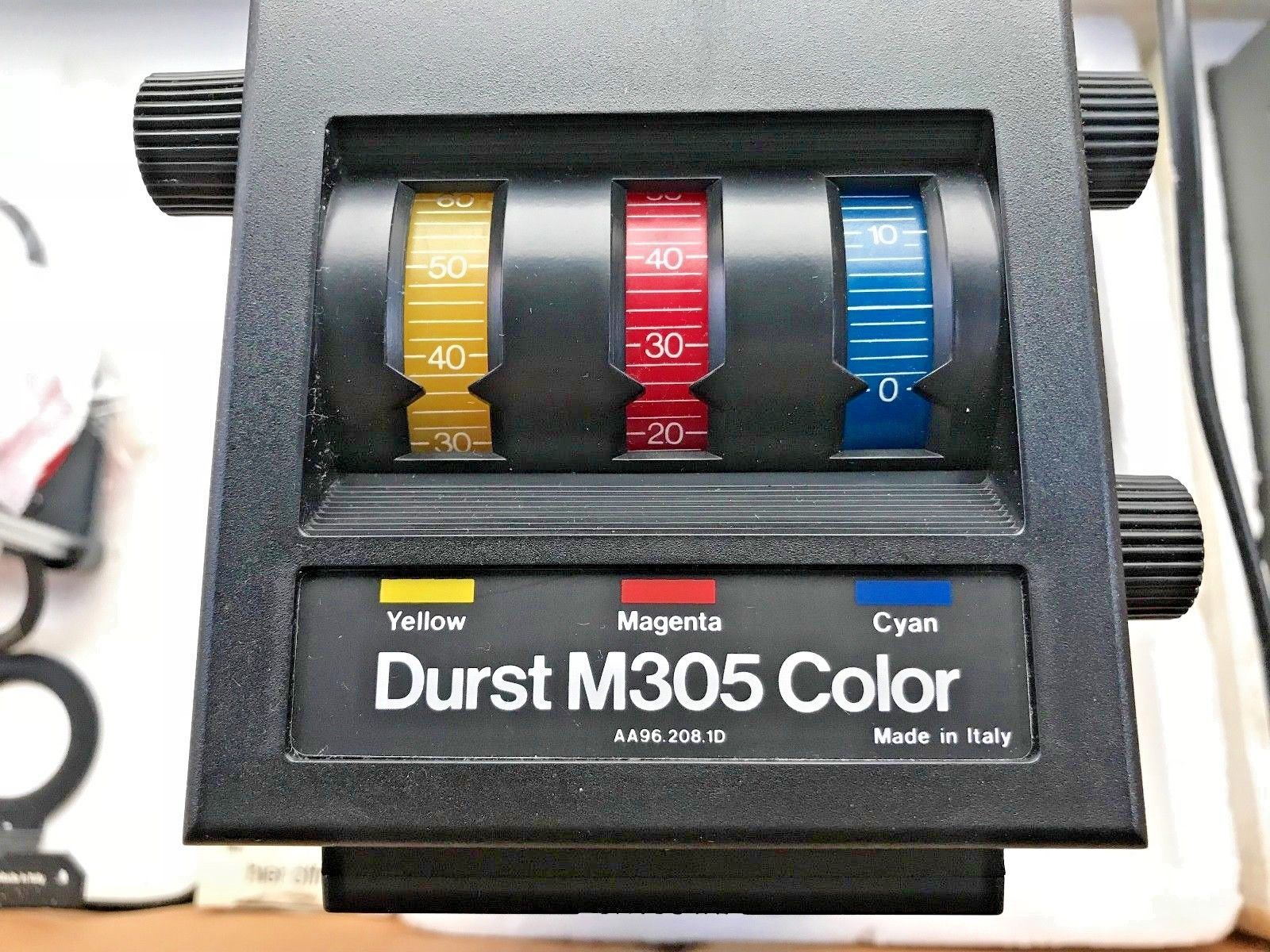 Durst M305 colour enlarger with 50mm Durst enlarger lens