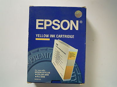 Epson Yellow in Cartrigde forepson pro5000 colour 3000