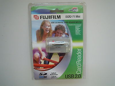 Fuji film SD USB 2.0 Digital Card Reader/Writer  DCR2-71  mini