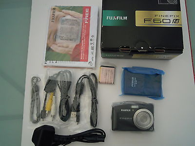 Fujifilm FinePix F60fd 12.0 MP Digital Camera - Black