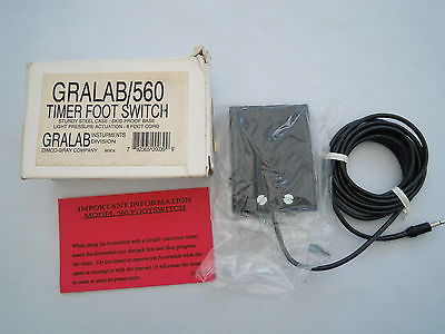 GRALAB/560 TIMER FOOT SWITCH GL6031