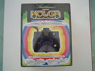 Holga 120CFN Medium Format Point and Shoot Film Camera Starter Kit
