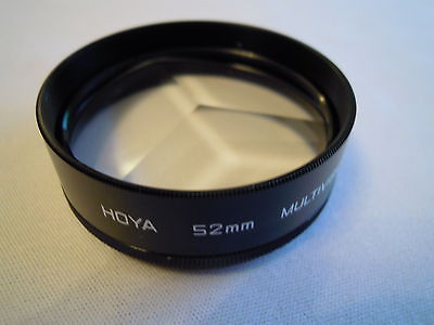 HOYA 52MM MULTIVISION FILTER WITH CASE