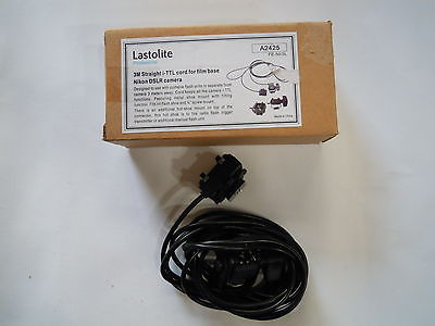 Lastolite A24253M Straight i-TTL Cord for film base Nikon DSLR Camera