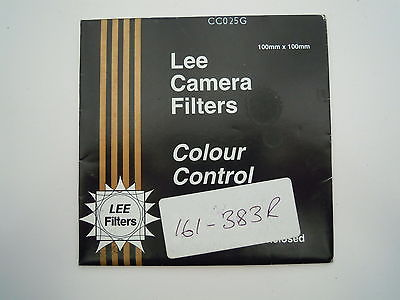 Lee Camera filter Colour Control 100mm x 100mm CC025G