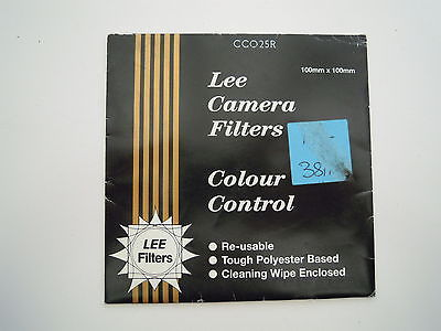 Lee Camera filter Colour Control 100mm x 100mm CC025R