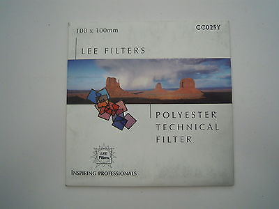 Lee Camera filter Colour Control 100mm x 100mm CC025Y