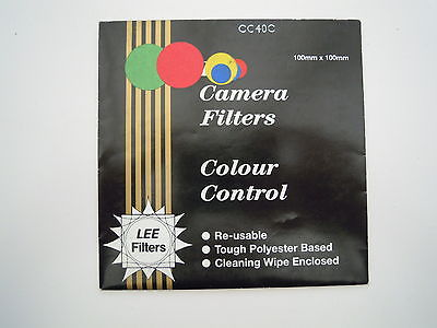 Lee Camera filter Colour Control 100mm x 100mm CC40C