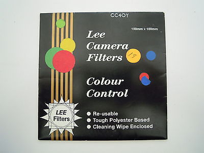 Lee Camera filter Colour Control 100mm x 100mm CC40Y