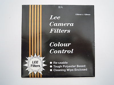 Lee Camera Filter Colour Control 100mmx100mm 81A