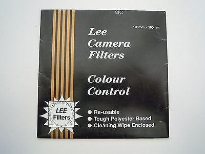 Lee Camera Filter Colour Control 100mmx100mm 81C
