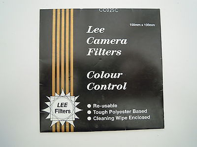 Lee Camera Filter Colour Control 100mmx100mm CC025C