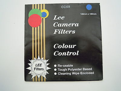 Lee Camera Filter Colour Control 100mmx100mm CC15R