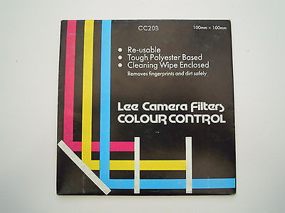 Lee Camera Filter Colour Control 100mmx100mm CC20B