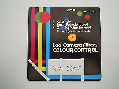 Lee Camera Filter Colour Control 100mmx100mm CC25B