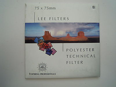 Lee Camera Filter Colour Control 75mmx75mm 81