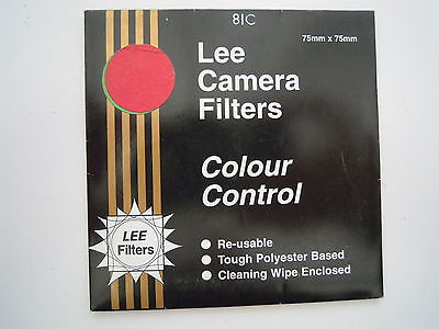 Lee Camera Filter Colour Control 75mmx75mm 81C