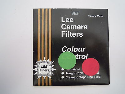 Lee Camera Filter Colour Control 75mmx75mm 81EF