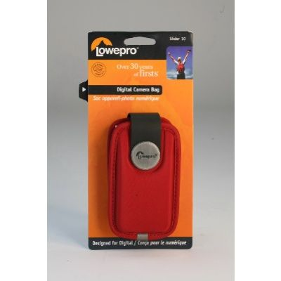 Lowepro slider 10 red mp3 phone digital camera pouch