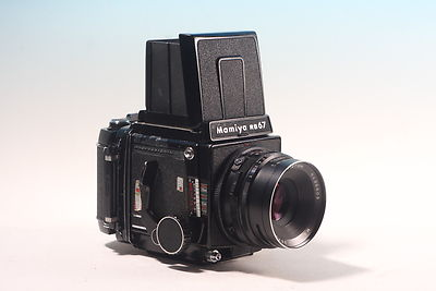 Mamiya RB Pro S + 127mm + 120 bk complete USED avg condition