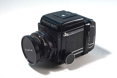Mamiya RB Pro S + 127mm and 120 bk complete USED good condition