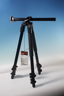 Manfrotto 190 XPROB Tripod Legs Only - Black professional aluminium compact came
