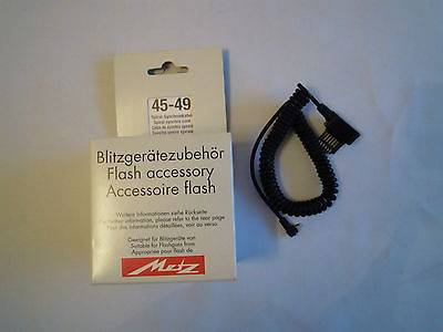 METZ 45-49 SPIRALSYNCHRO CORD FLASH ACCESSORY