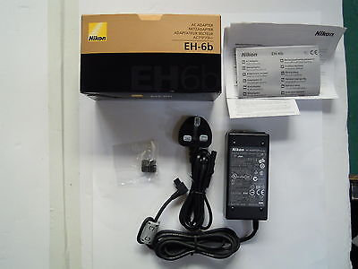 Nikon EH-6b AC Power Adapter For D3