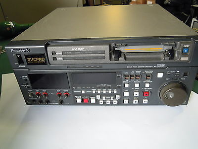 Panasonic DVC Pro Digital Video Cassette Recorder AJ-D850