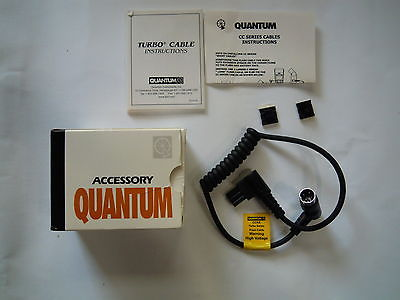 Quantum CCKE Turbo Flash Cable -Short ;Fits Nikon SB_28 Euro, SB28DX, SB80DX
